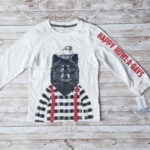 Carters Graphic Long Sleeve Shirt